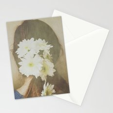 She Had Flowers in Her Hair Stationery Cards