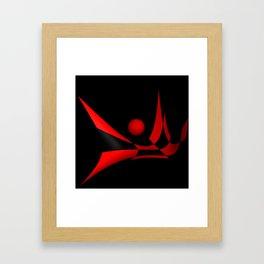 bicubic waves -2- Framed Art Print