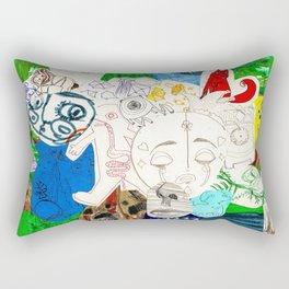 Collage 17 Rectangular Pillow