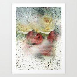 rain is beautiful  Art Print