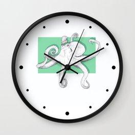 Classy Octopod Wall Clock
