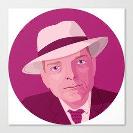 Queer Portrait - Truman Capote Canvas Print