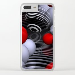 3D for duffle bags and more -2- Clear iPhone Case