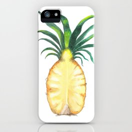 Pineapple Crown iPhone Case