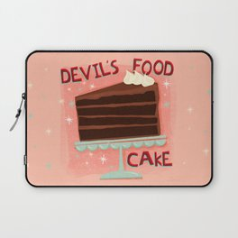 Devil's Food Cake An All American Classic Dessert Laptop Sleeve