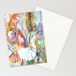 Female Chimera Stationery Cards