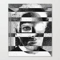jon contino Canvas Prints featuring Jon 234 by Jose Luis