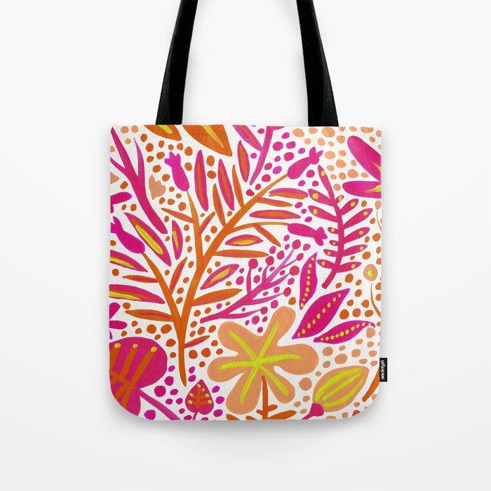 Garden – Citrus Palette Tote Bag