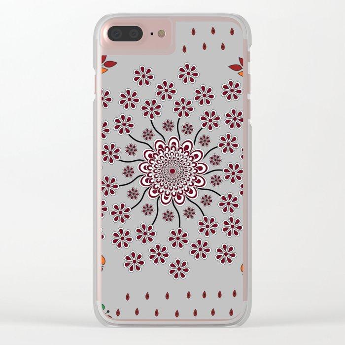 Pattern Z Clear iPhone Case