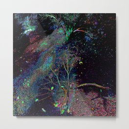 Psychedelic Forest.... Metal Print