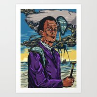 dali Art Prints featuring Dali  by Nicolae Negura