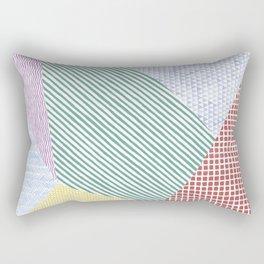 Chalk Patterns Rectangular Pillow