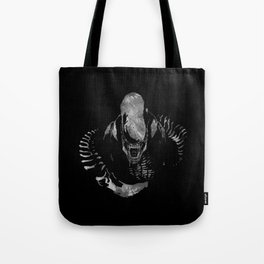Aliens Here Tote Bag