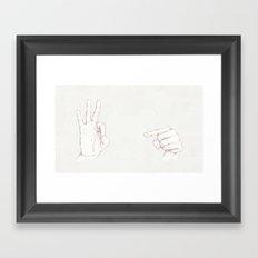 Innuendo   Framed Art Print