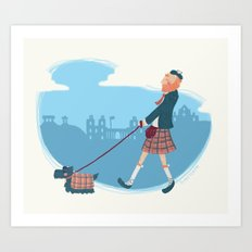 Edinburgh Art Print