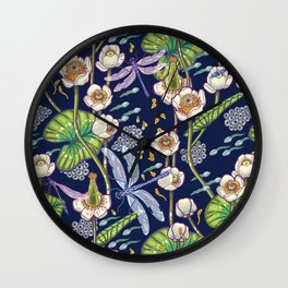 river stories Wall Clock