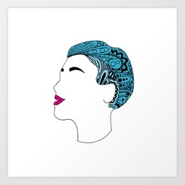 Everything Is Blue... Art Print
