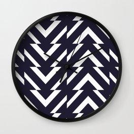 Dark-n-Lite Arrow Pattern Wall Clock
