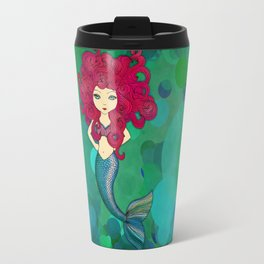 Some days I wear my hair, other days my hair wears me. (Mermaid.) Travel Mug