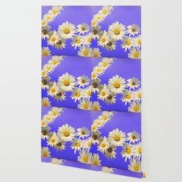 Daisy Chain Flower Art Wallpaper