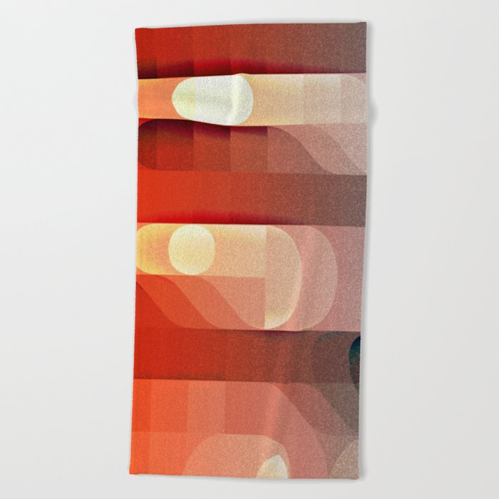 Amazing Stair Cases Beach Towel