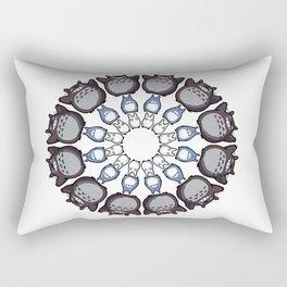 Anime Mandala Rectangular Pillow