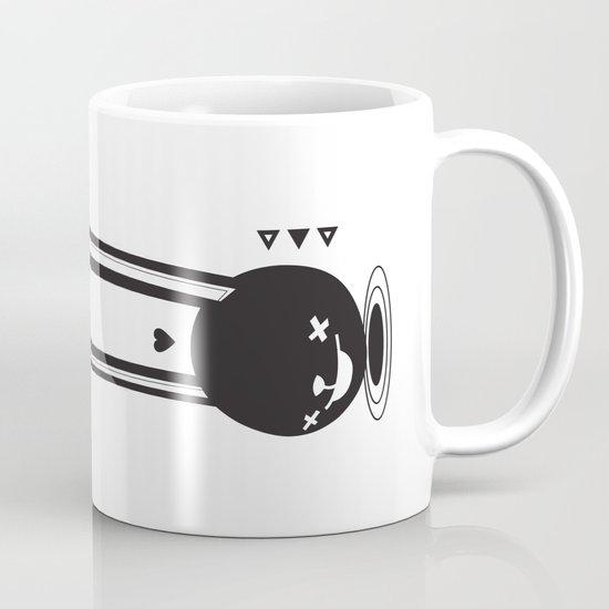 I CAN HEAR YOU ! - LONG EAR BUNNY  Coffee Mug