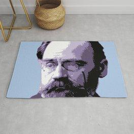 Émile Durkheim Rug