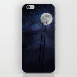Moon up iPhone Skin