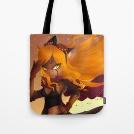 Shiny Hair Tote Bag