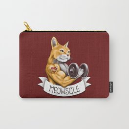 Meowscle Carry-All Pouch