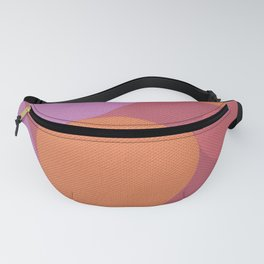 Sunset Shadows Moon Fanny Pack