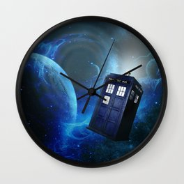 Tardis 02 Wall Clock