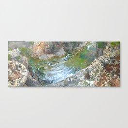 River of Turner Falls Canvas Print