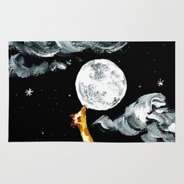 On a moon diet Rug