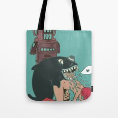 Sir: I got your letter and was glad to find you had not forgotten Tote Bag