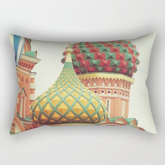 Russian Onion Domes Rectangular Pillow