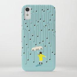 Singing in the Rain v2 iPhone Case