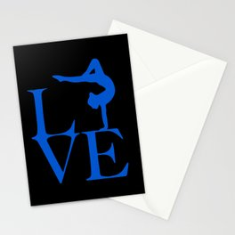 Gymnast Love Stationery Cards