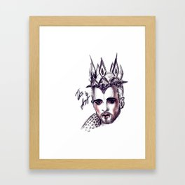 billy traumer kaulitz Framed Art Print