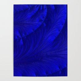 Renaissance Blue Poster