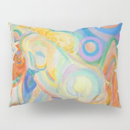 "Robert Delaunay ""Femme nue lisant (Nude Woman Reading)"" Pillow Sham"