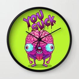 Neurotic Jerk Wall Clock