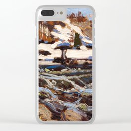 Tom Thomson - Rapids Clear iPhone Case