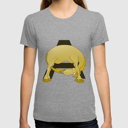 Pony Monogram Letter A T-shirt