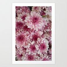 Dead Pink Art Print