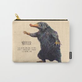 Niffler art Fantastic Beasts Carry-All Pouch