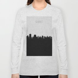 City Skylines: Quebec City Long Sleeve T-shirt