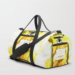 Parfum Gold Duffle Bag