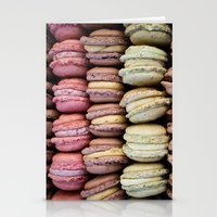 macarons Stationery Cards featuring Macarons by Tanya Harrison Photography